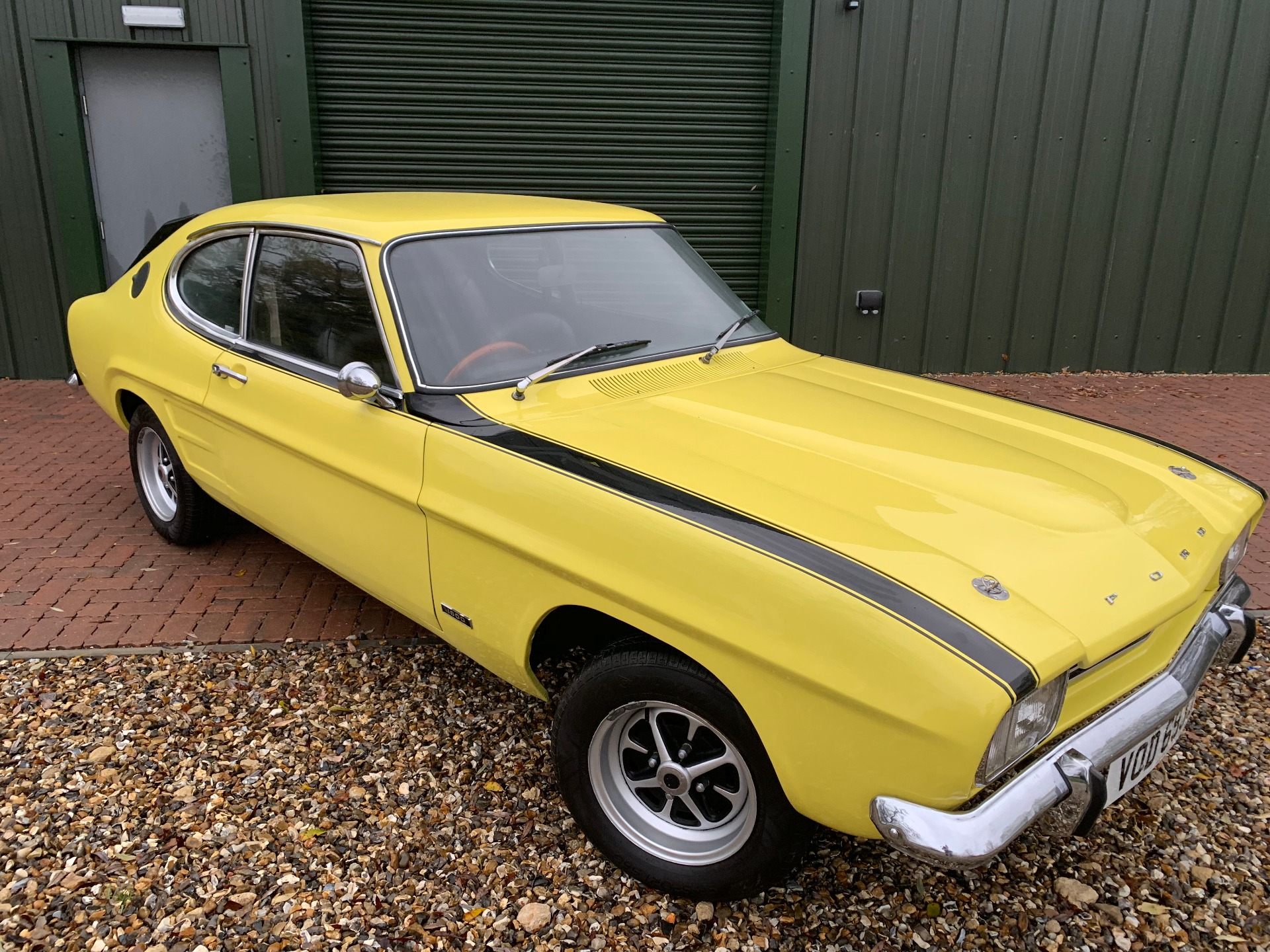 Used Ford Capri Mk1 Capri Mk1 Yellow 1 6 Coupe 1st Choice Car Bodyworks