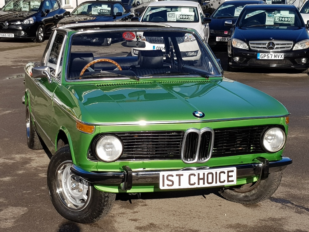 BMW 2002 For Sale >> Used Bmw 2002 Baur Convertible Taiga Green 2 0