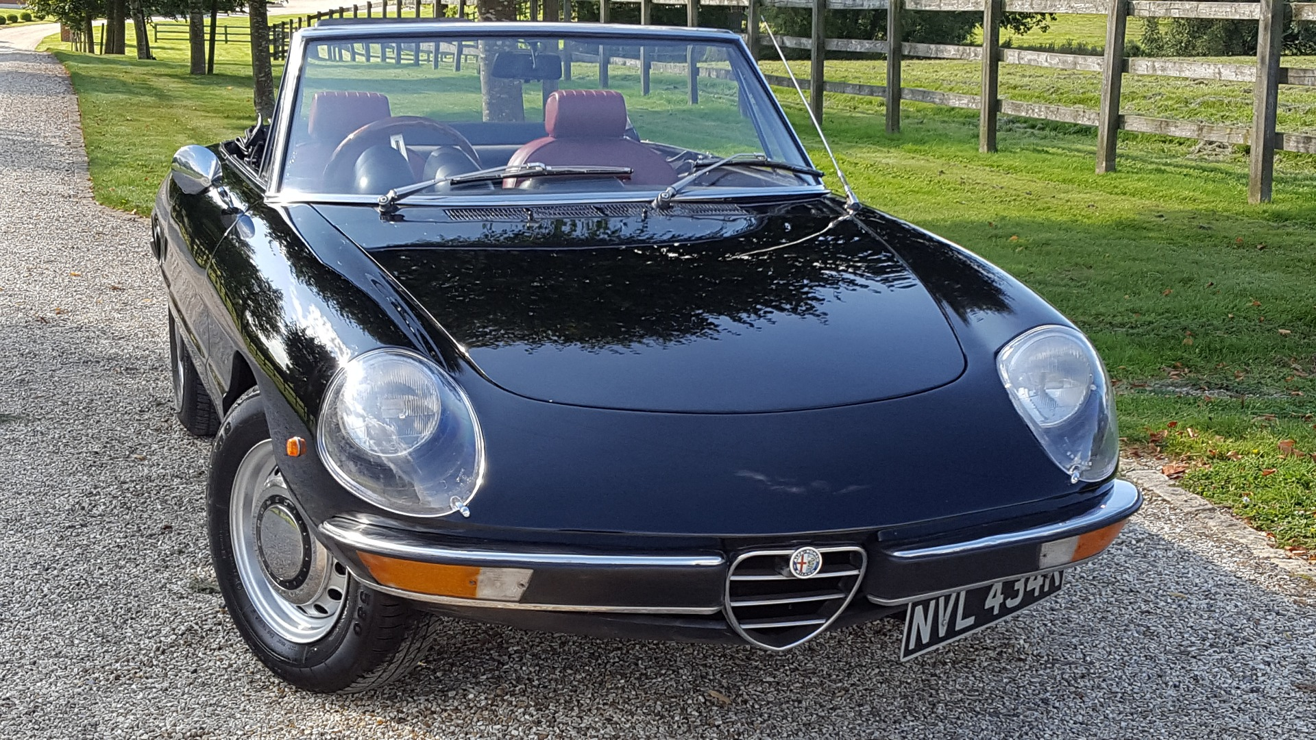 Used ALFA ROMEO SPIDER SPIDER BLACK Convertible St Choice - Alfa romeo spider 1974 for sale