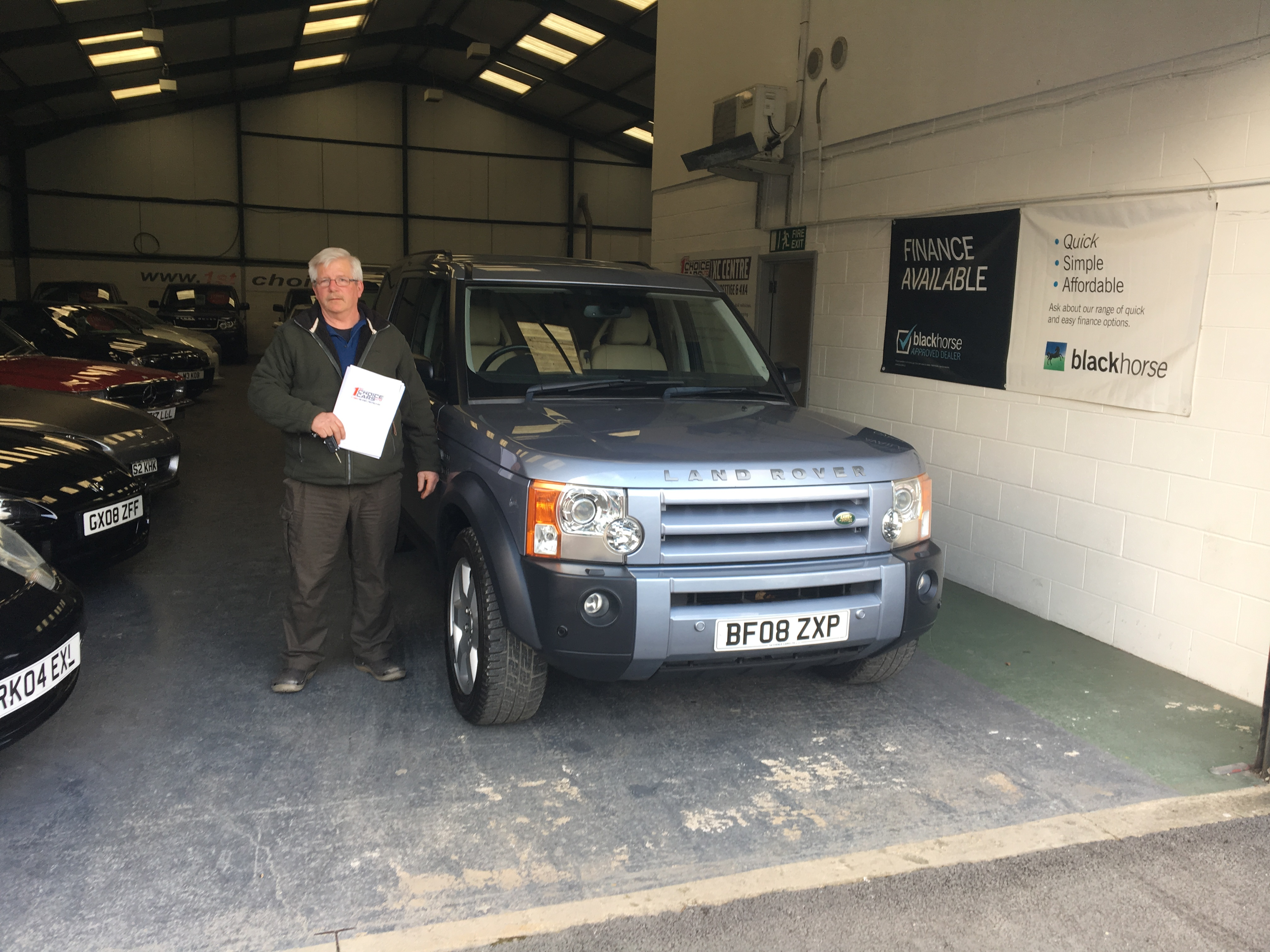 land rover discovery purchase wiltshire march 17 trade in for used vehicle